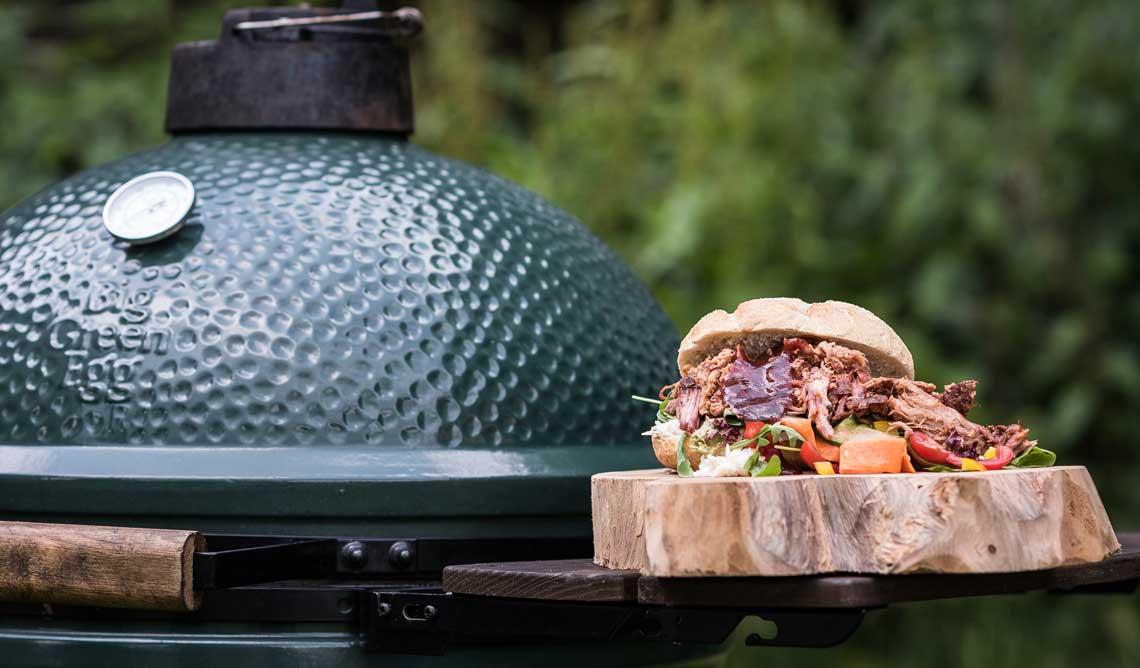 big green egg 08 - Outdoor-Küchen