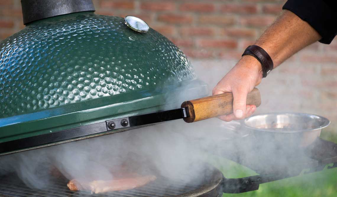 big green egg 12 - Outdoor-Küchen