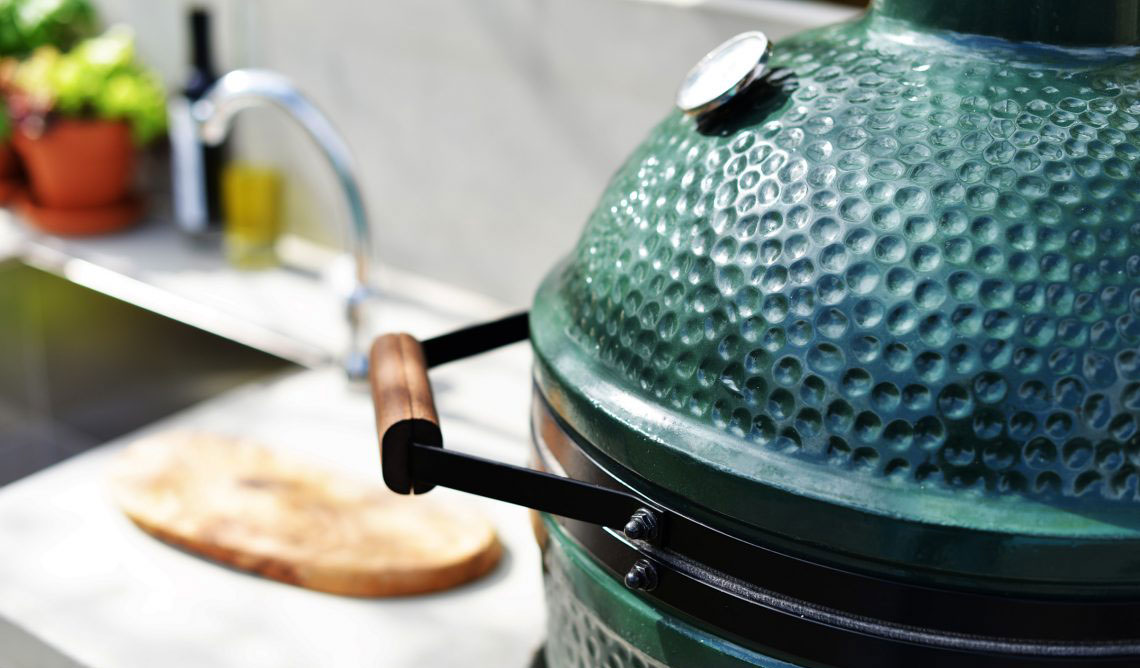 big green egg 01 - Grill & Feuerstelle