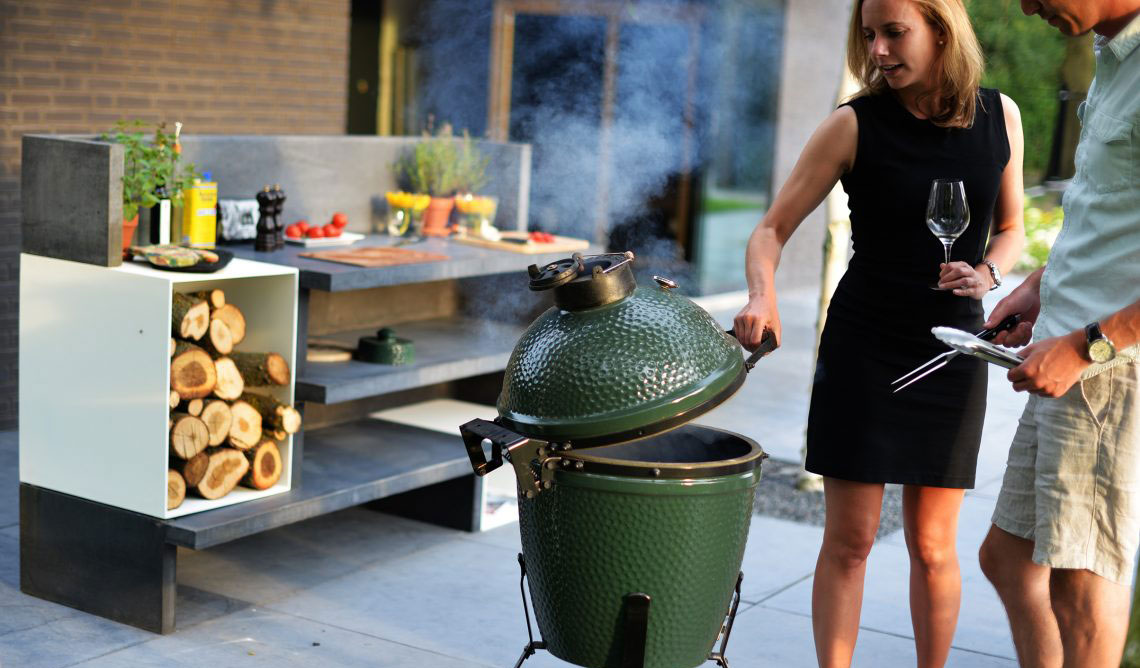 big green egg 03 - Outdoor-Küchen