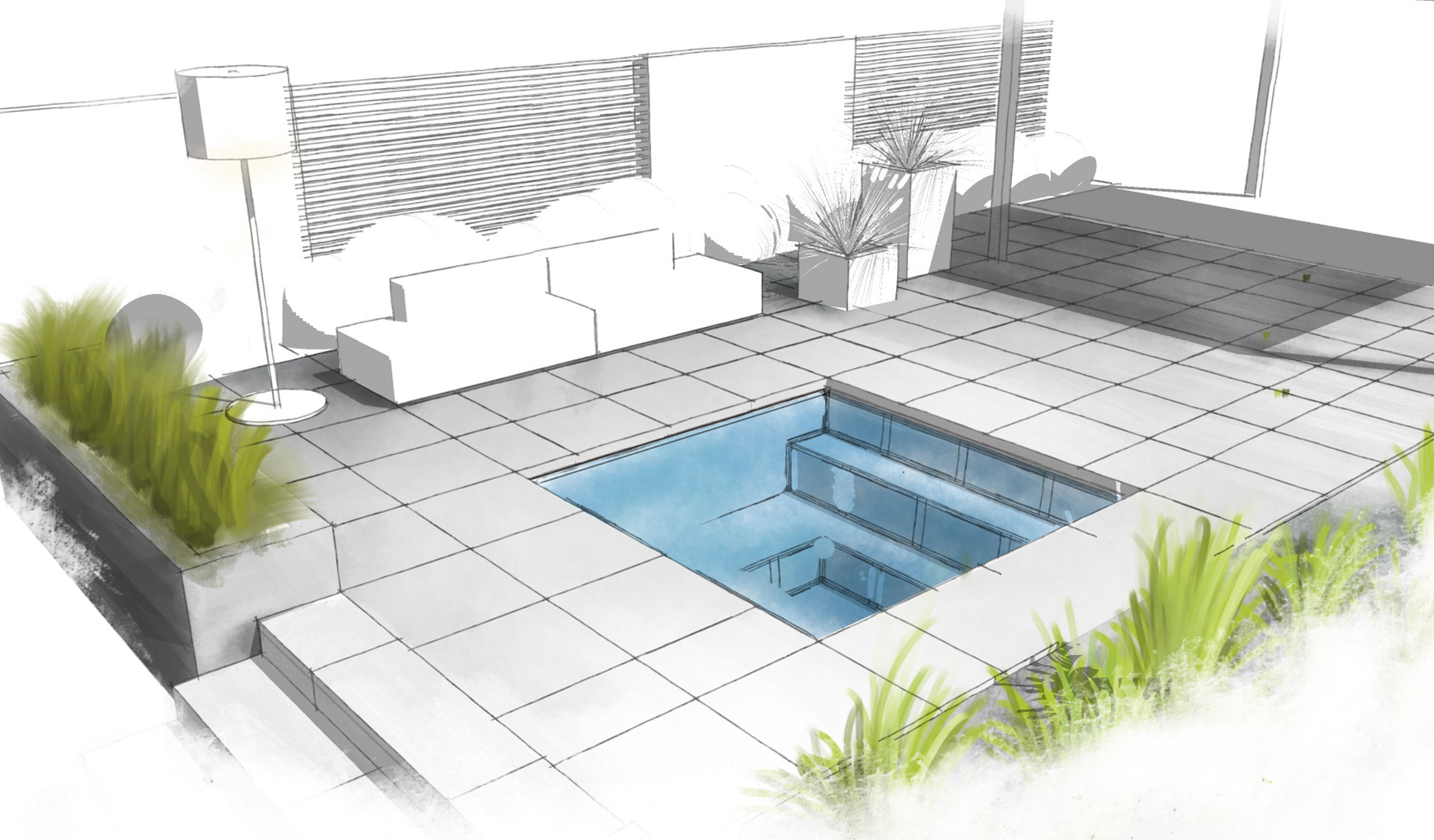 c side pool 5 - Pools & Sauna