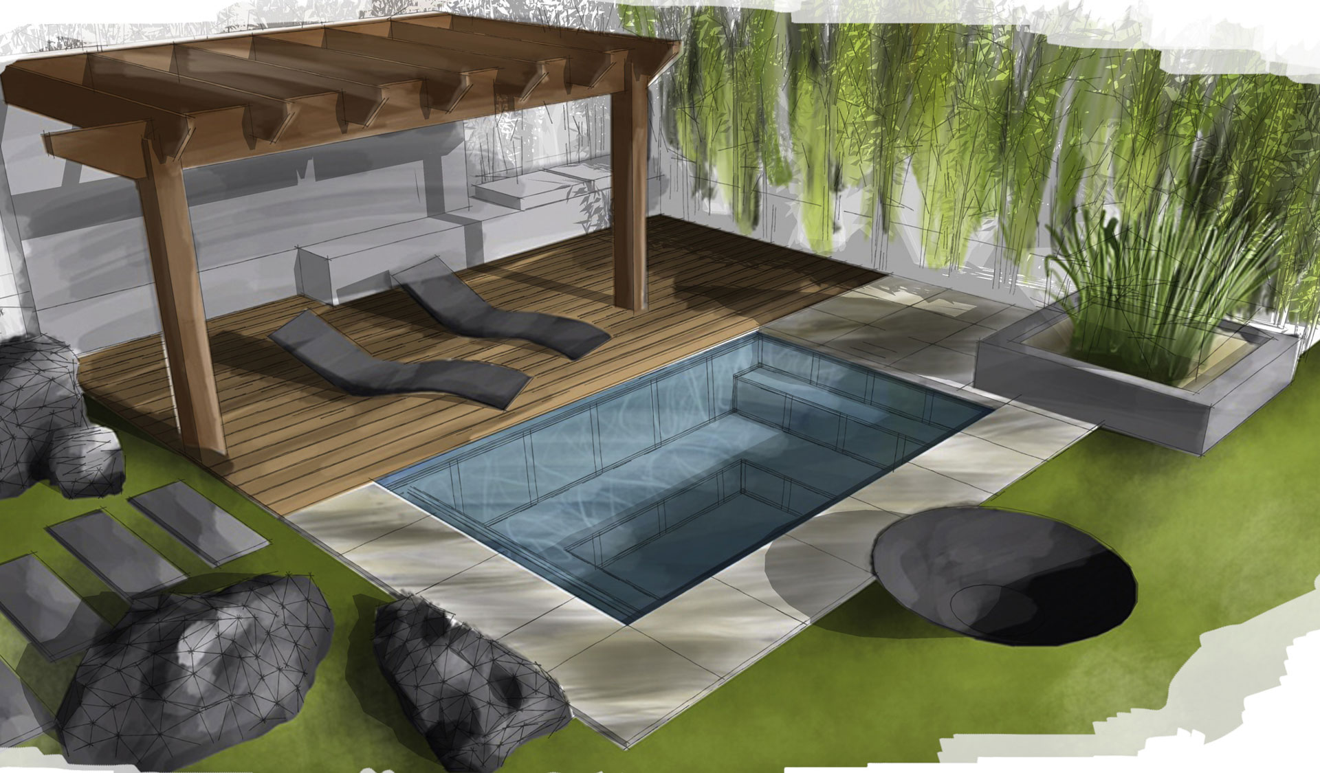 c side pool 6 - Pools & Sauna